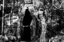 Black and White photography at the temples of Angkor